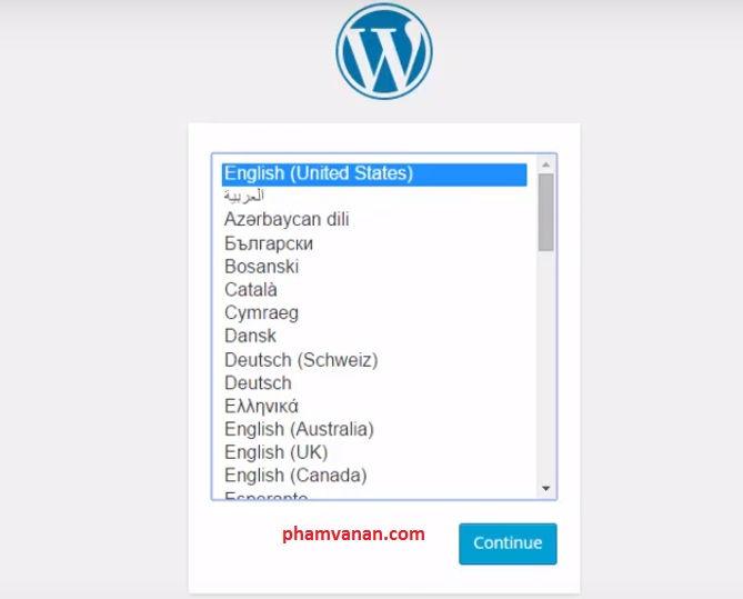 huong dan cai dat mot website wordpress 6