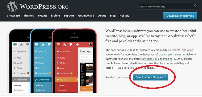 huong dan cai dat mot website wordpress