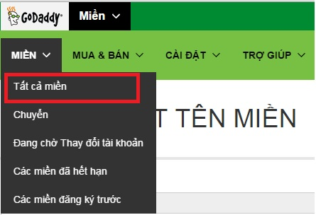huong dan tro domain ve hosting 0